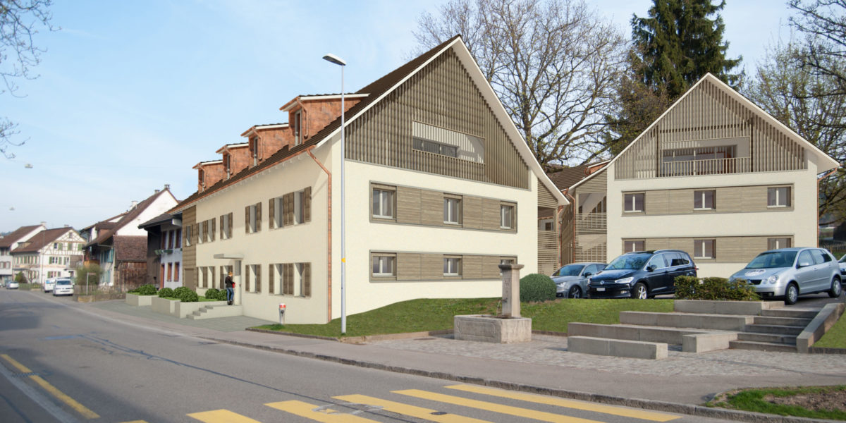 3.5 Zimmerwohnung Haus B Wohnung 2.1 – Märktgass Rafz