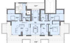 """5.5 Zimmer Attikawohnung Wohnung 2.1 """"Residenz Zentaur"""" Eglisau"""