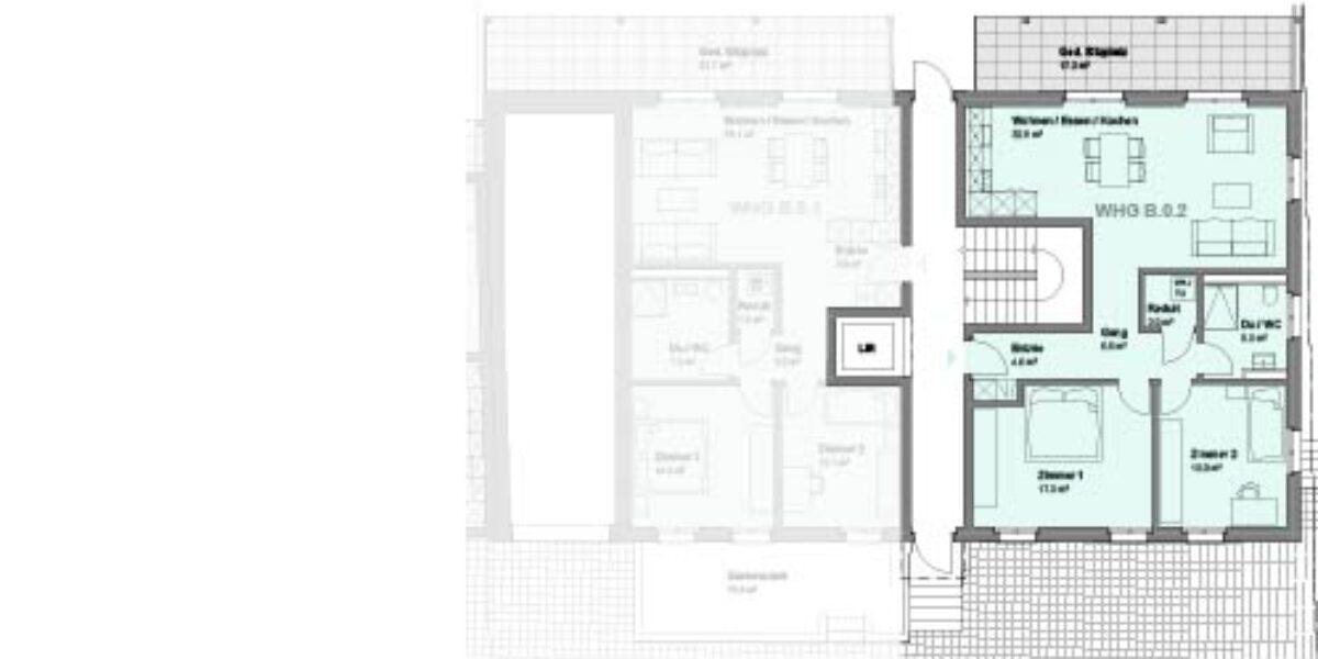 3.5 Zimmerwohnung Haus B Wohnung 0.2 – Märktgass Rafz