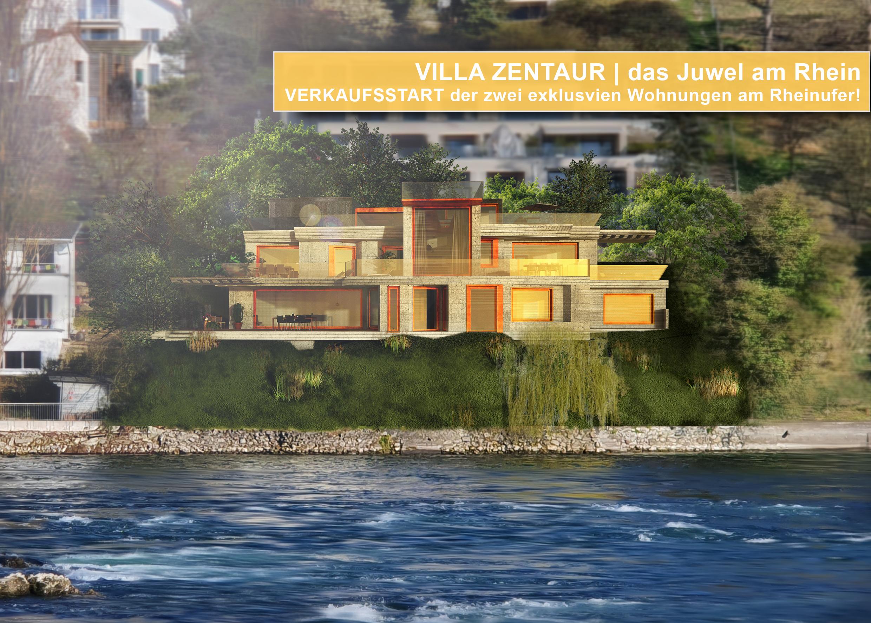 Verkaufstart | Villa Zentaur – das Juwel am Rhein