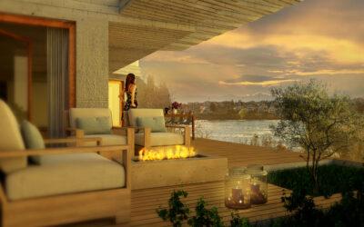 Das Baugespann wird gestellt! | Villa Zentaur – das Juwel am Rhein