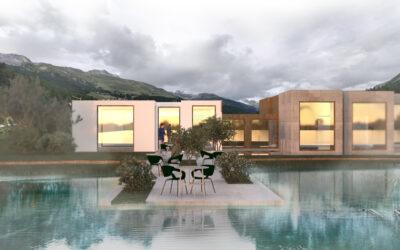 Platzierung in den Top 10 | Architekturwettbewerb Alps Wellness Retreat